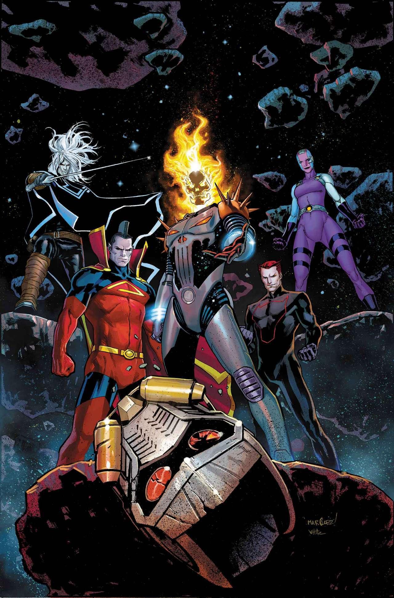 Брат Таноса получил полностью новый костюм