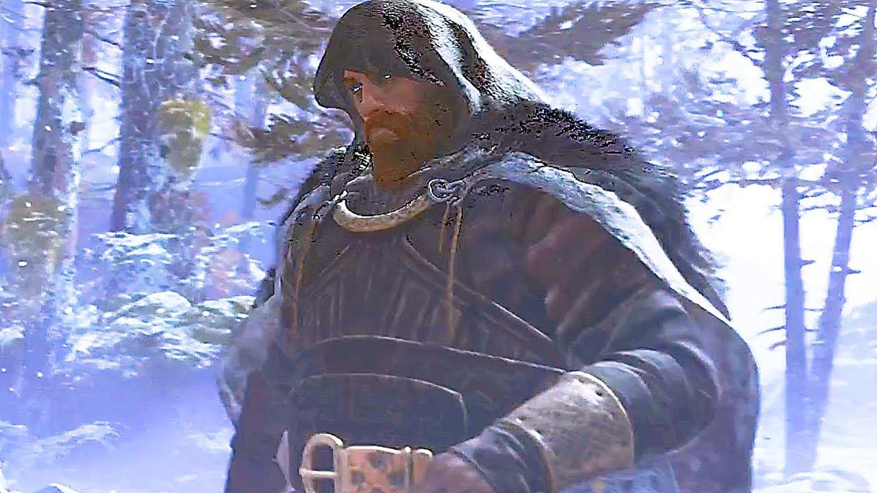Посмотрите на лицо Тора из God of War (2018)