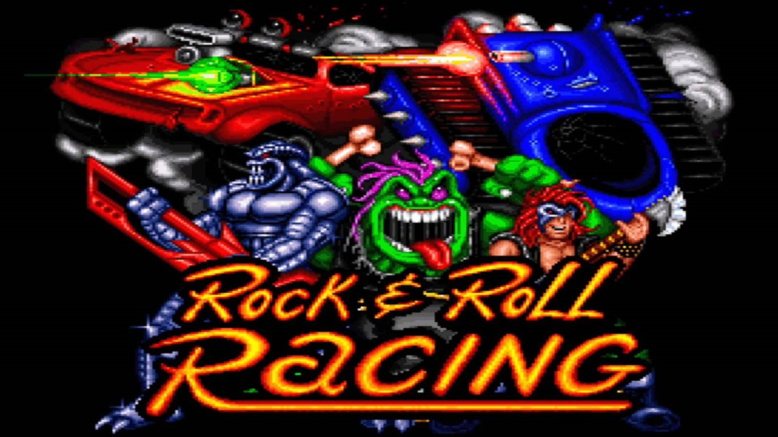 Картинки по запросу rock n roll racing