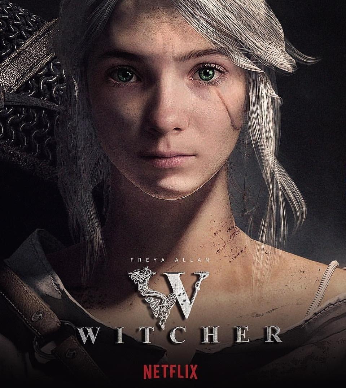 Взгляните на эти постеры сериала «Ведьмак»