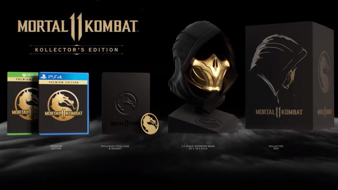 Что войдет в коллекционное издание Mortal Kombat 11