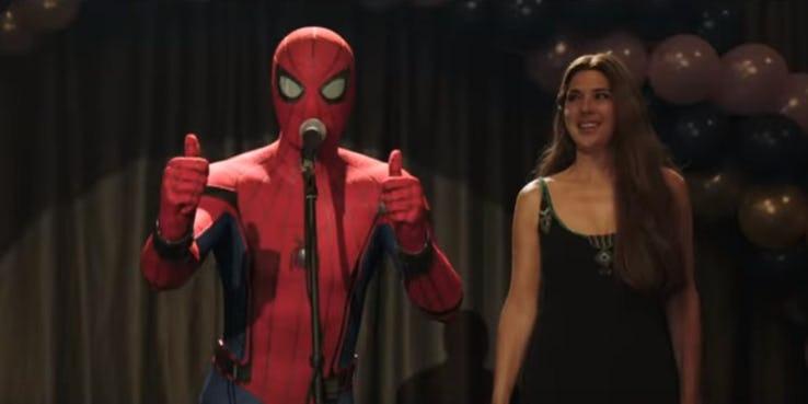 Раскрытые костюмы Питера Паркера в «Человеке-пауке: Вдали от дома»