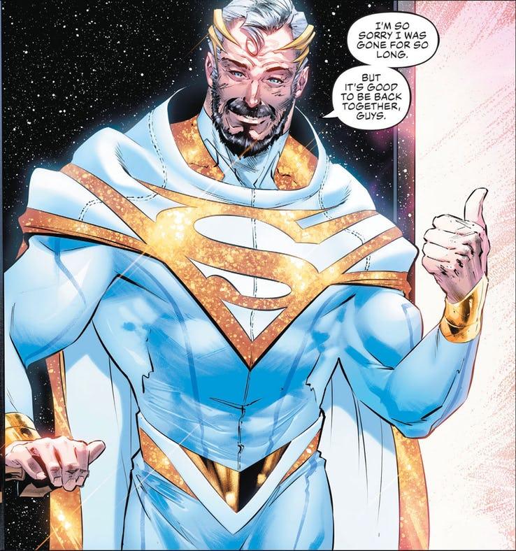Супермен получил новый голубой костюм
