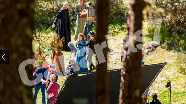 Трисс Анны Шаффер впервые засветилась на кадрах сериала «Ведьмак»