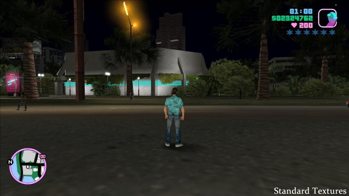 Grand Theft Auto: Vice City получила улучшенную графику
