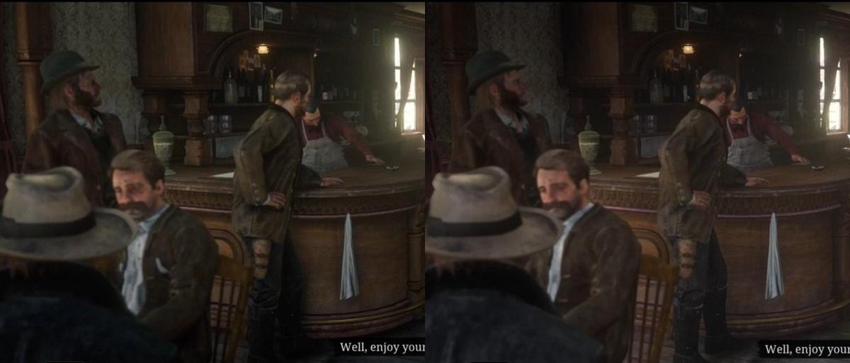 Графика Red Dead Redemption 2 стала хуже после обновления
