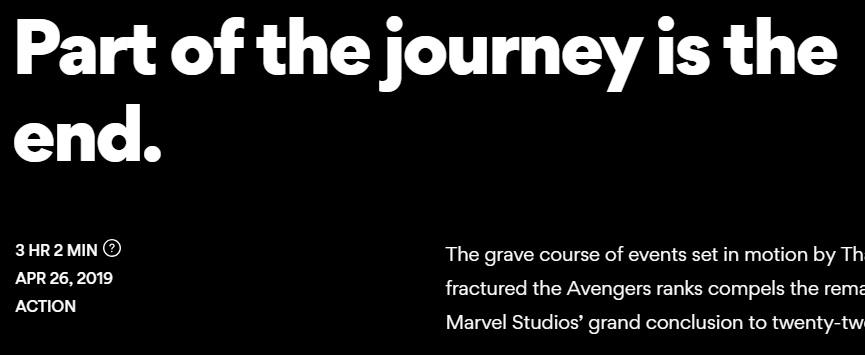 Раскрыта продолжительность «Мстителей 4: Финал». Сколько идет фильм?