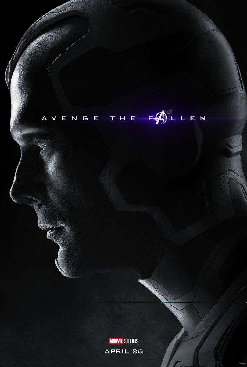 Новые постеры «Мстителей 4: Финал» показали мертвых героев