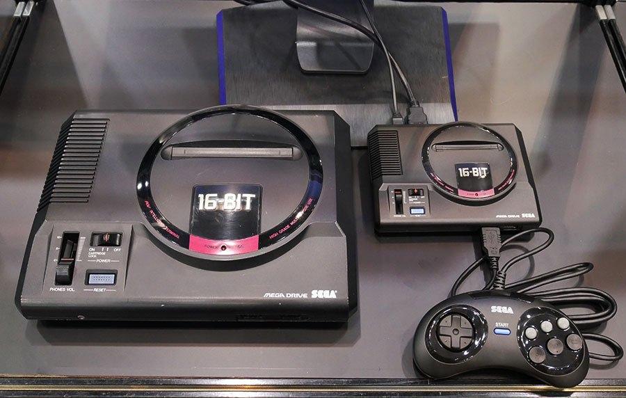 Дата выхода ретро-консоли Sega Mega Drive Mini