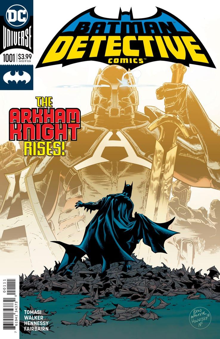DC представили новый логотип линейки о Бэтмене
