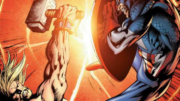 10 персонажей Marvel, которые ломали щит Капитана Америка