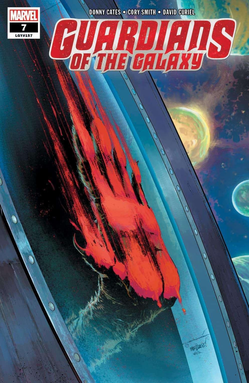 Marvel тизерит смерть Енота Ракеты