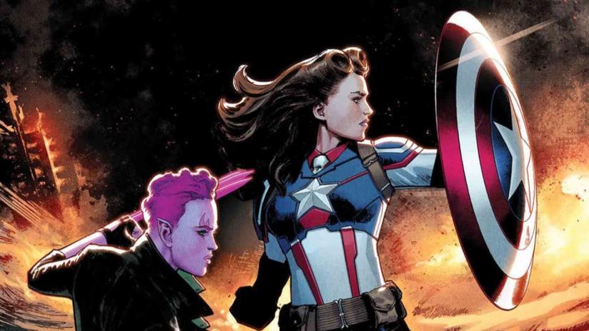 Пегги Картер станет Капитаном Америка в сериале Marvel