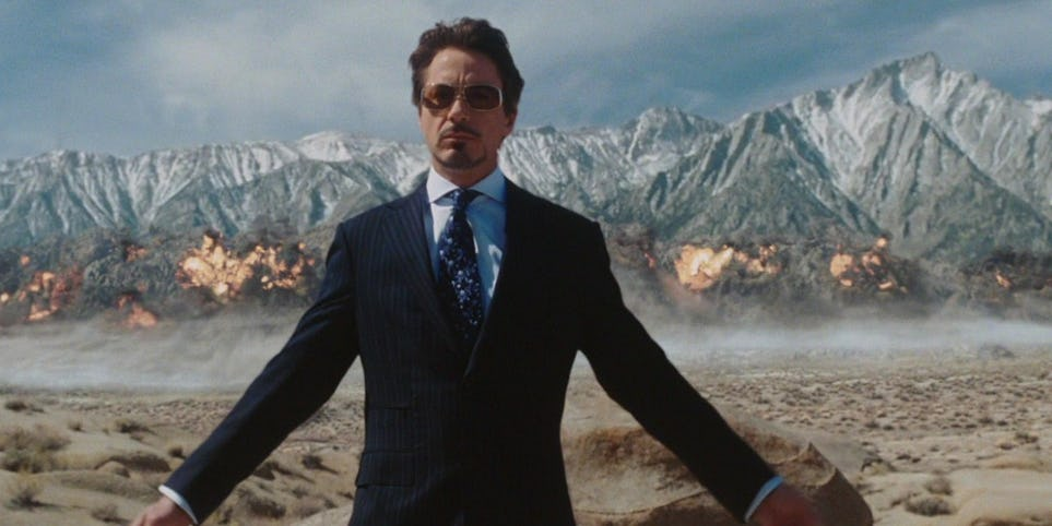 Тони Старк провалил свою первую миссию в роли Железного человека