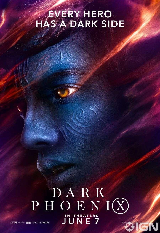 Героев окутывает зло на новых постерах «Людей Икс: Темный Феникс»