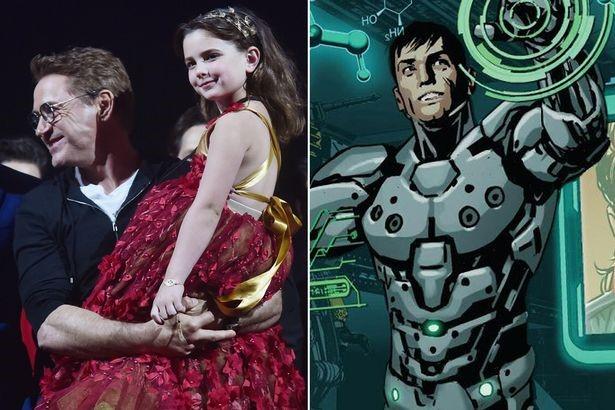 Кто такая Морган Старк в «Мстителях: Финал»
