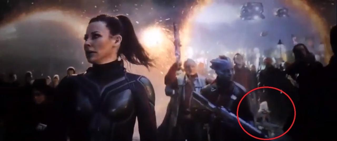Говард Утка появился в «Мстителях: Финал». Заметили?