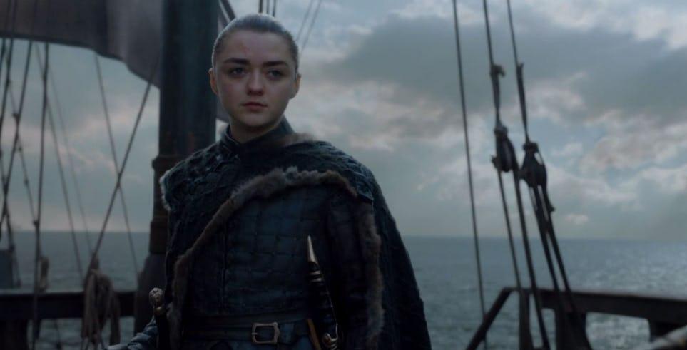 «Игра престолов»: Куда отправилась Арья Старк в финале?