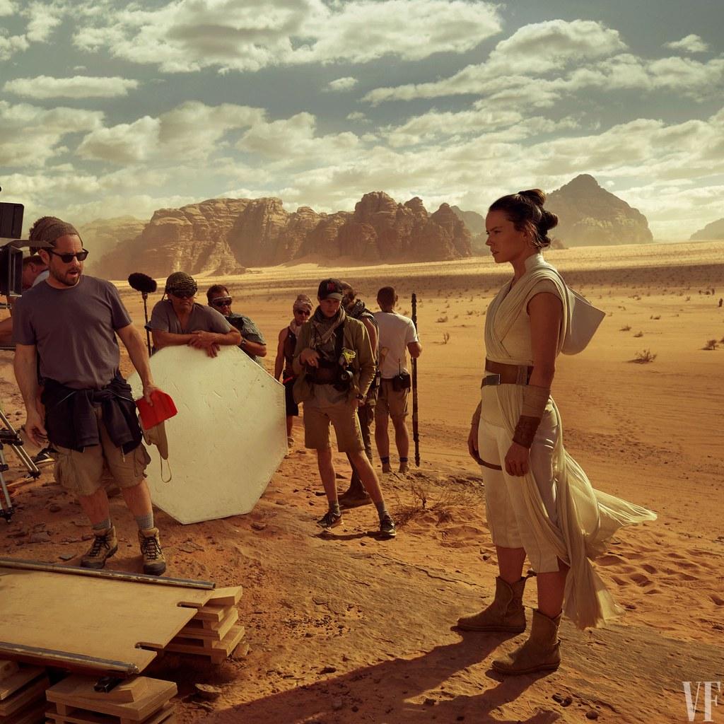 Люк, Кайло Рен и Рей на новых кадрах «Звездных войн: Скайуокер. Восход»