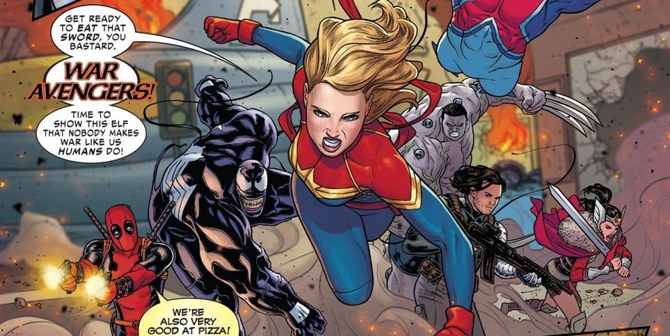 Комикс показал, какой может быть новая команда в киновселенной Marvel