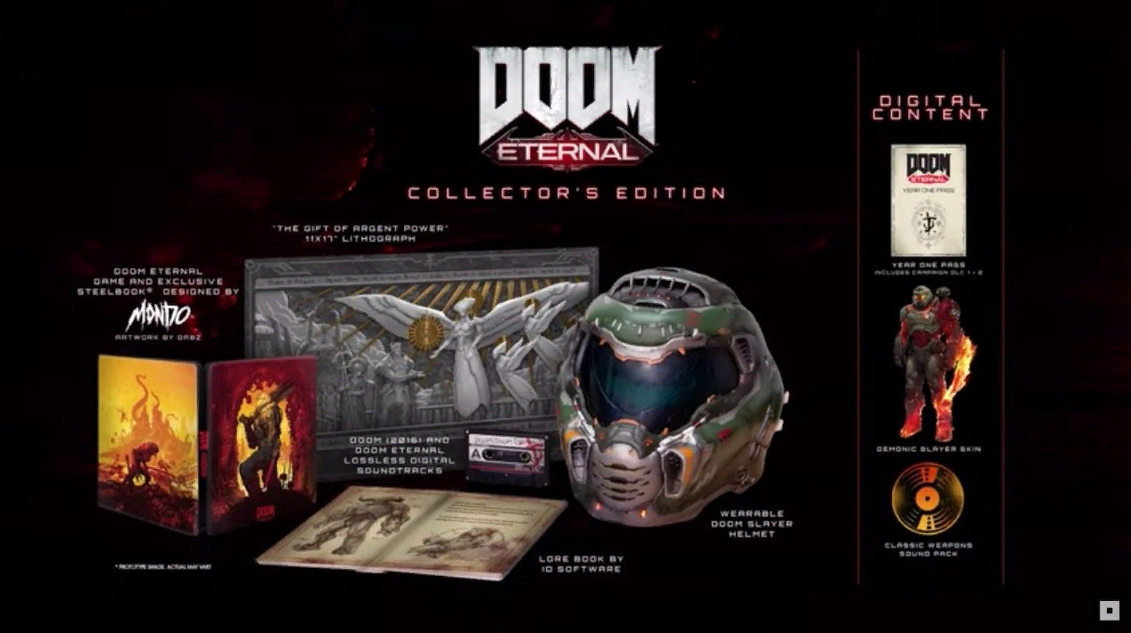 Дата выхода DOOM Eternal и трейлер с E3 2019