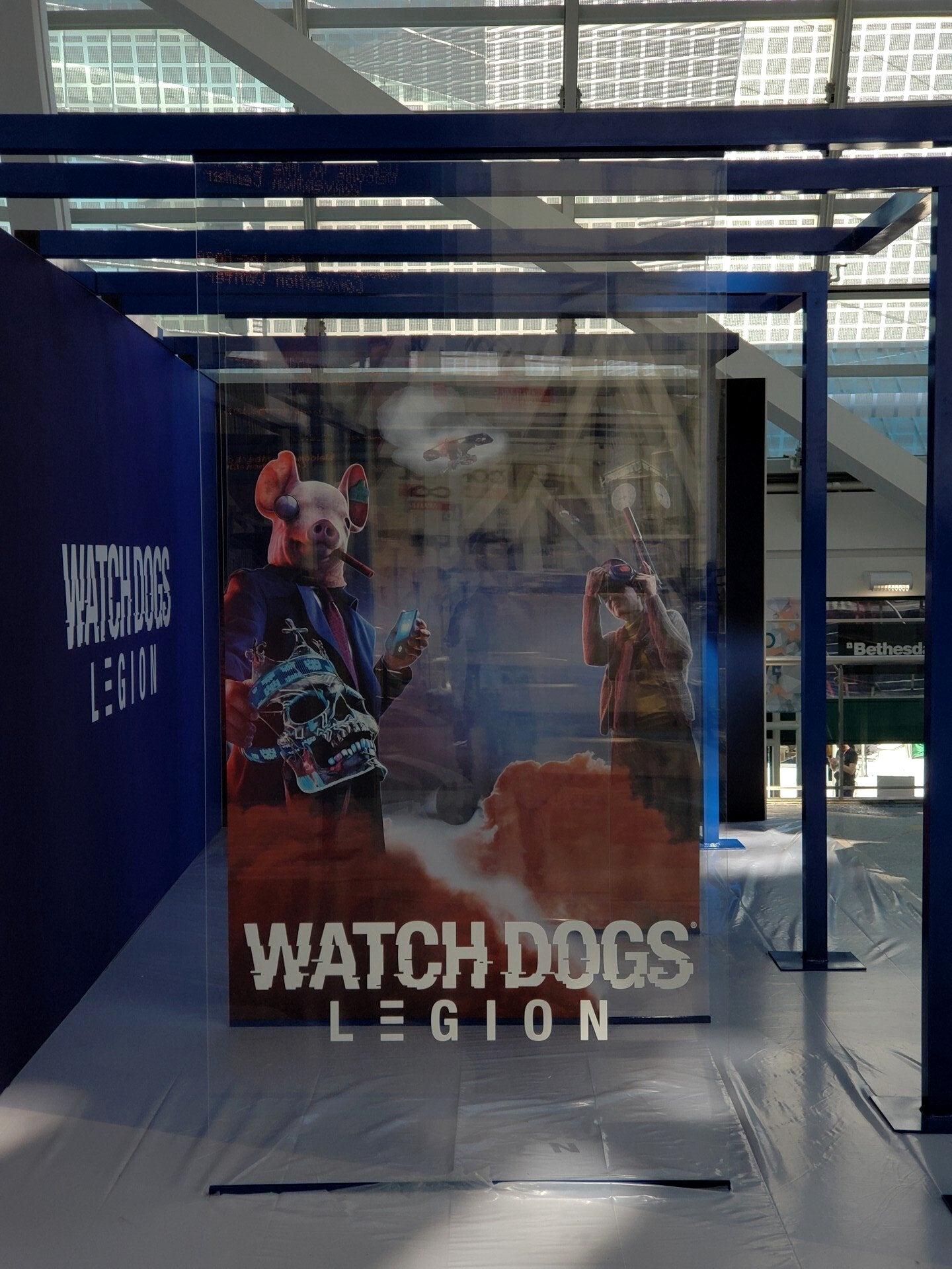 E3 2019. В Сеть утекло изображение Watch Dogs Legion