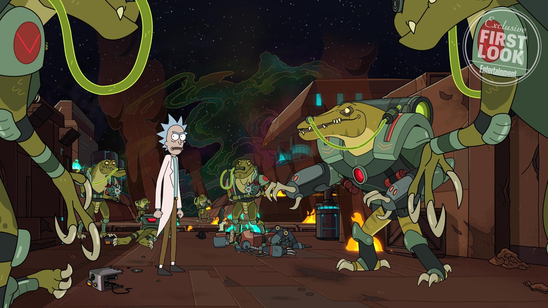 Первые кадры 4 сезона «Рика и Морти»