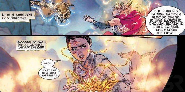Молот Тора превратился в еще более сильное оружие