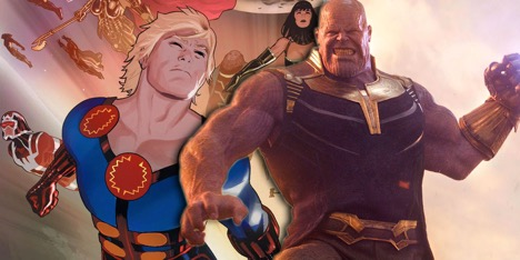 Как Танос может вернуться в киновселенную Marvel