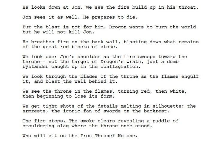 Реальная причина, из-за которой Дрогон сжёг Железный трон