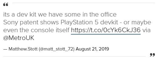 Подтвержден дизайн PS5 от Sony