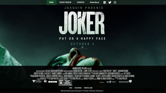 Фильм «Джокер» получил ожидаемый возрастной рейтинг