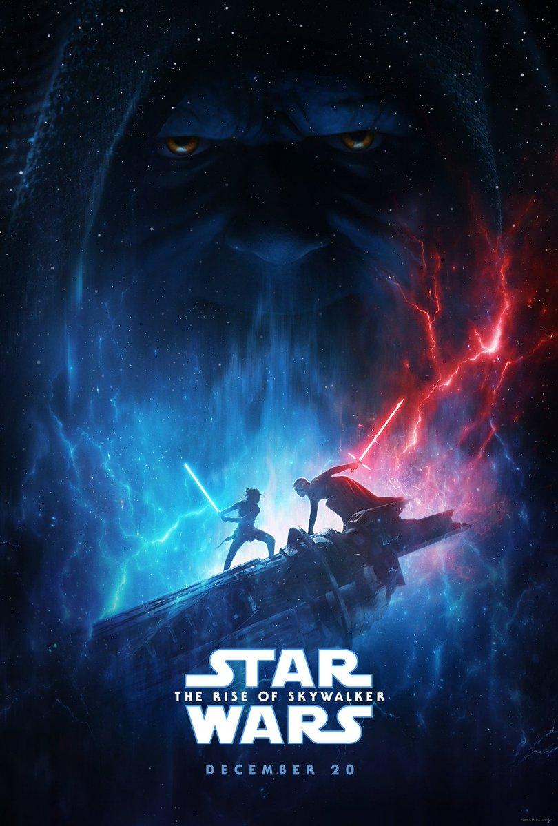 Палпатин появился на постере «Звездных войн 9»