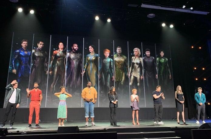 Раскрыты костюмы героев фильма «Вечные»