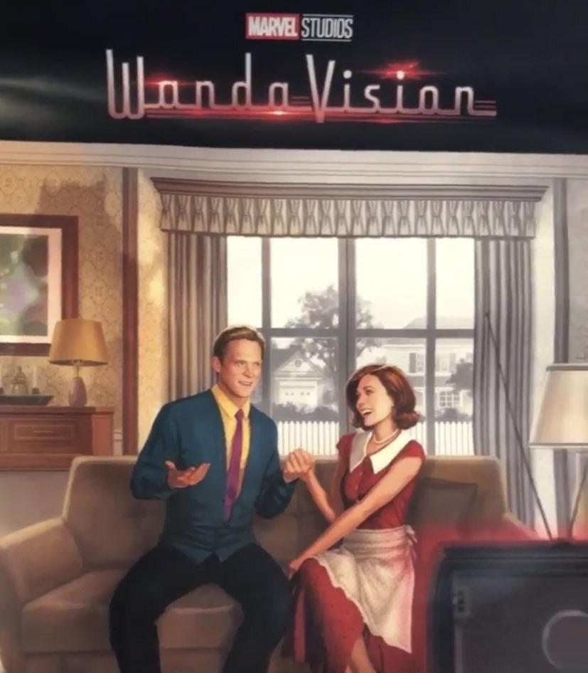 Стильный первый постер сериала «ВандаВижен» с D23 Expo 2019
