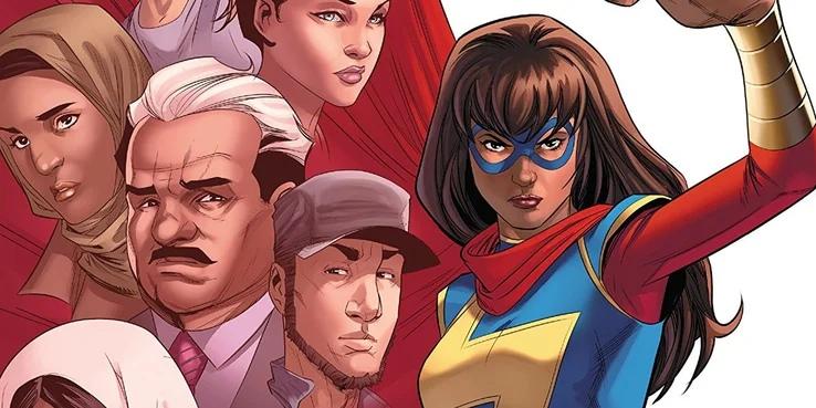 Объяснено, кто такая Мисс Марвел в киновселенной Marvel