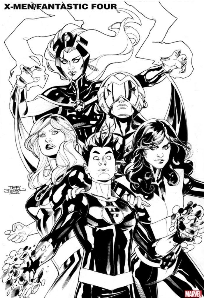 Marvel анонсировали кроссовер Людей Икс и Фантастической четверки