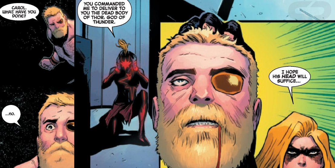 Капитан Марвел убила еще одного Мстителя