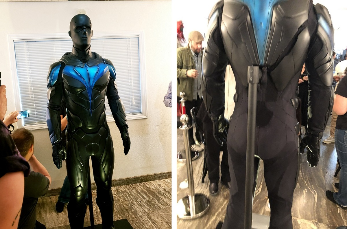 Фото костюма Найтвинга из сериала «Титаны»