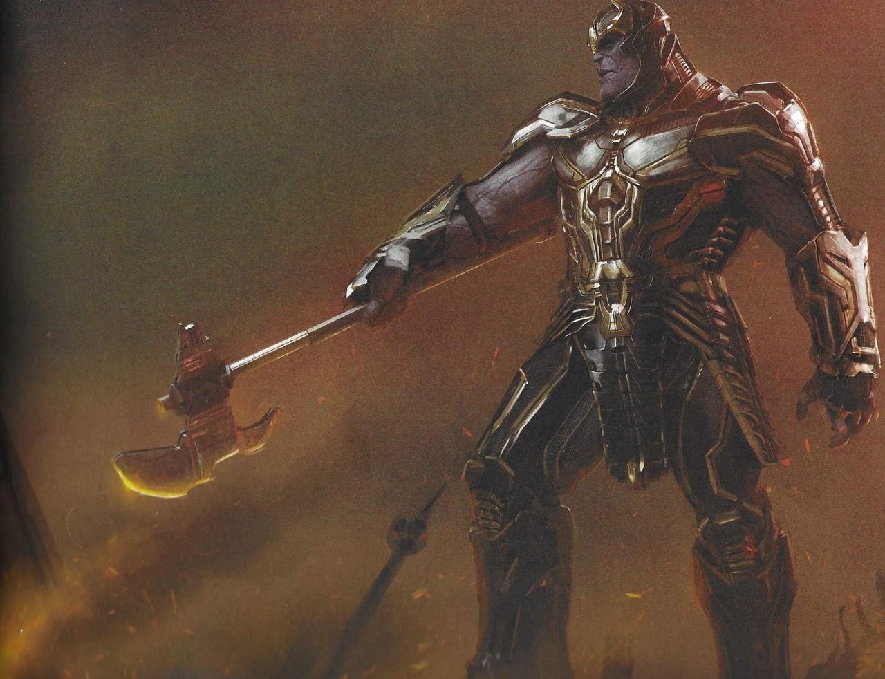 Как Танос мог выглядеть в «Мстителях: Финал»