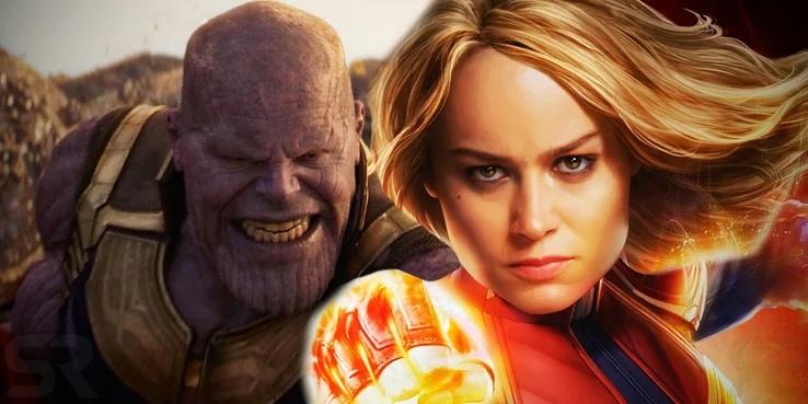 Как изменилась MCU, если бы Капитан Марвел появилась в «Мстителях: Эра Альтрона»