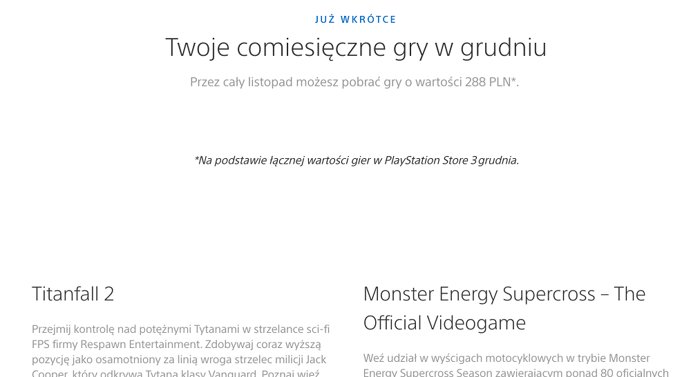 Раскрыты бесплатные игры PS Plus за декабрь 2019