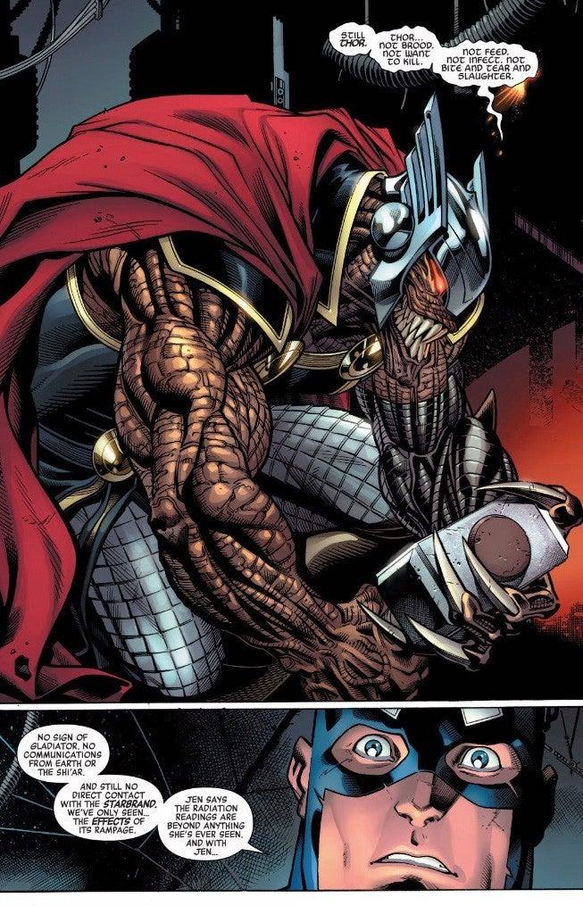 Marvel внесли большое изменение в Тора