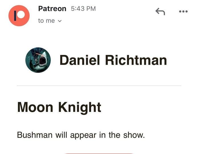 Раскрыт еще один злодей сериала «Лунный рыцарь» от Marvel