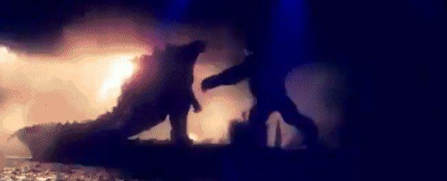 Утечка. Первый кадр фильма «Годзилла против Конга»