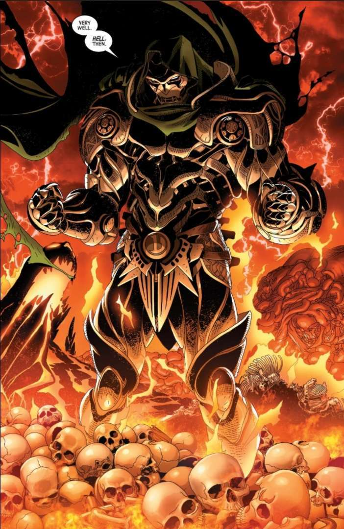 Доктор Дум получил новый костюм во вселенной Marvel