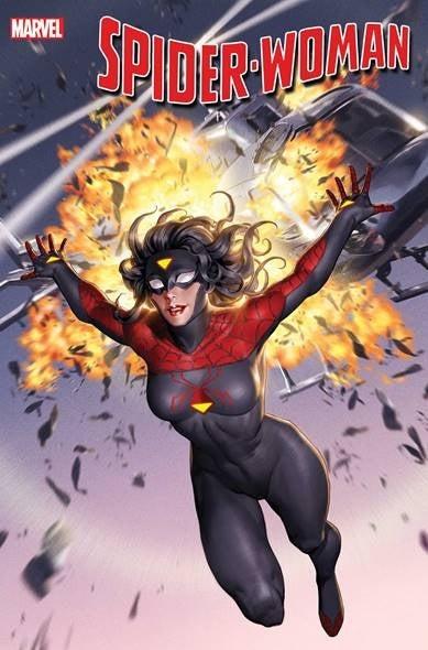 Marvel раскрыли новый костюм Женщины-паук