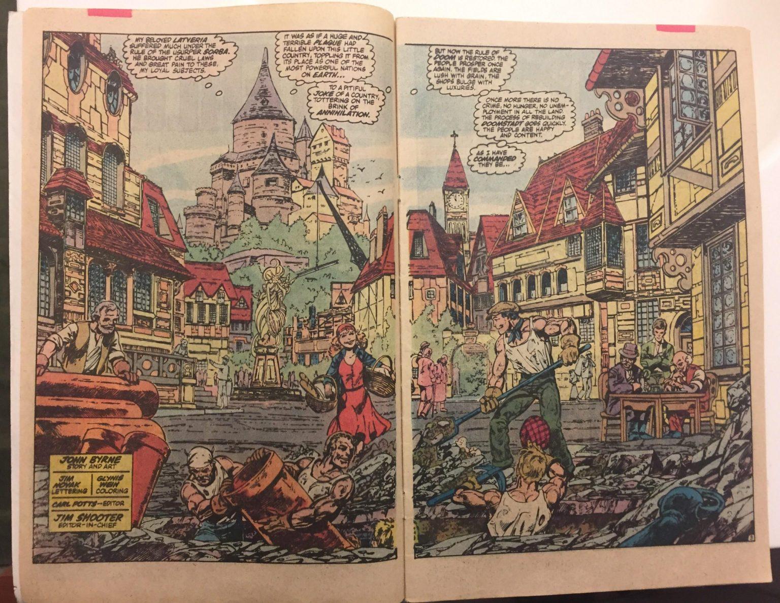 Доктор Дум появится в сериале «ВандаВижен» от Marvel?