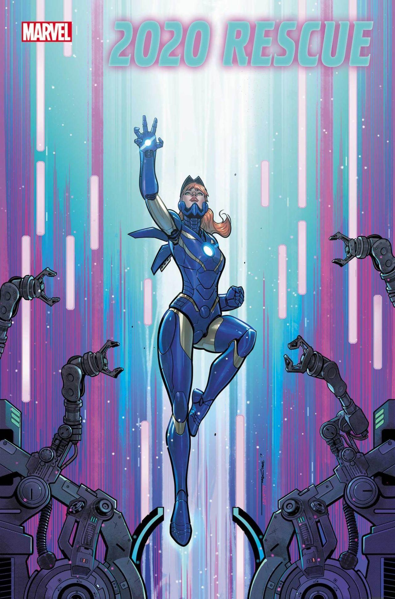 Спасительница получила новый костюм в «Железном человеке 2020»