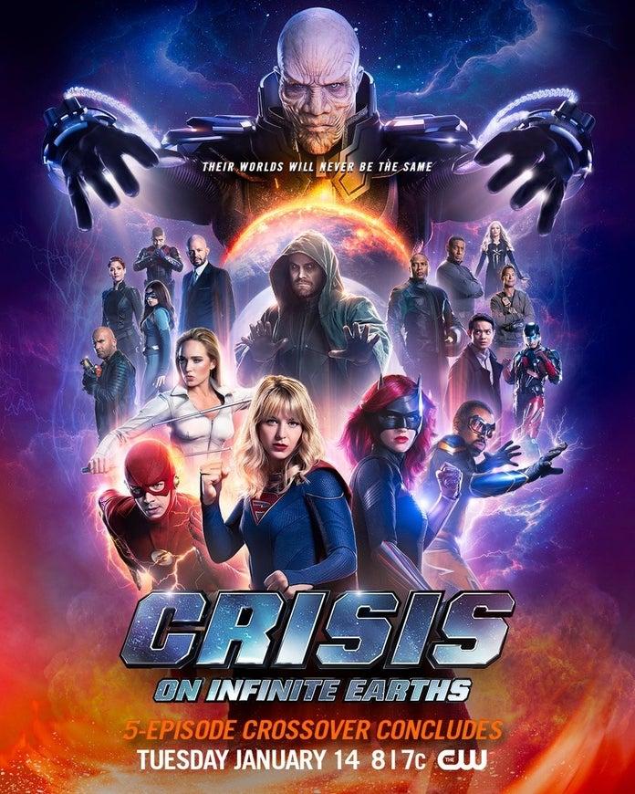 Новый постер финала кроссовера «Кризис на Бесконечных Землях»